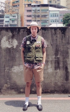 時尚穿搭:Fly Fisher Vest
