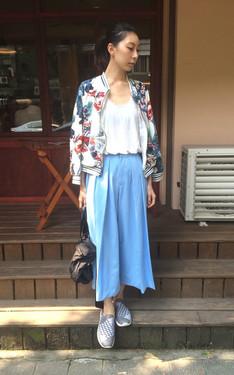 時尚穿搭:夏天的顏色