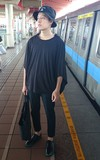 時尚穿搭:black