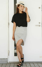 JOURNAL STANDARD TIGHT SKIRT的穿搭