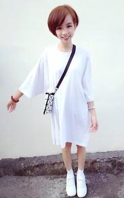 KOREA-朴朴PAK PAK  長版上衣的穿搭