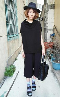 時尚穿搭:烏黑黑的新風格