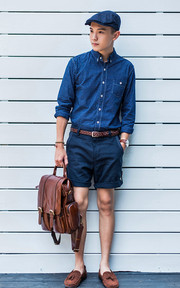 J.STREAM 短褲, 手錶的時尚穿搭
