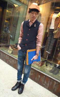 時尚穿搭:Brave Hsu 2013-11-07的搭配