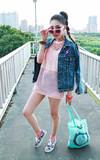 時尚穿搭:女孩的粉紅流行搖滾♥