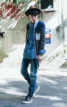時尚穿搭:雨謙のDAPPEI X LEE PART 1