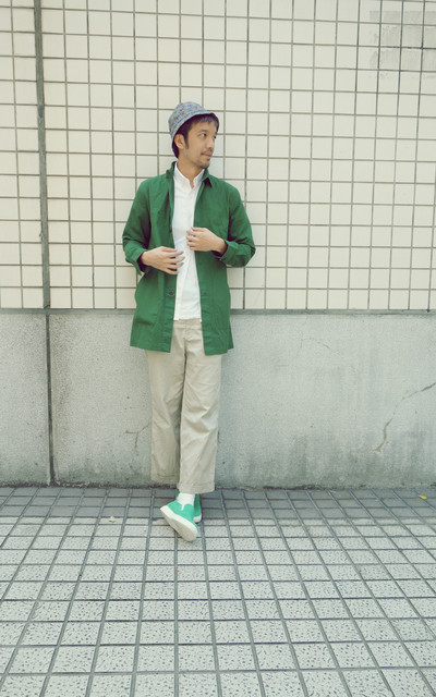 適合MIX&MATCH、CASUAL、沒甚麼、PLAIN-ME、看展覽、時尚辦公室、中秋節、SHOP COAT、SLIP ON、PLAIN-ME X AUDIENCE的穿搭