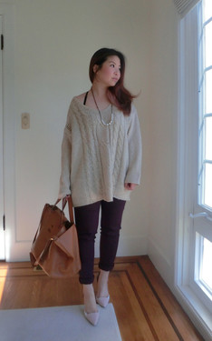 時尚穿搭:Try a sleek and slouchy look