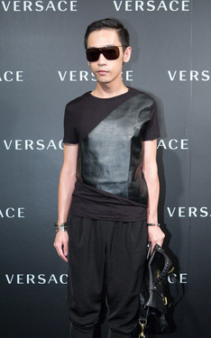 時尚穿搭:Versace Taipei 101 opening party