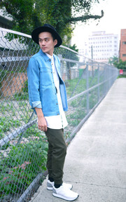 PLAIN-ME 自製商品  牛仔外套的時尚穿搭