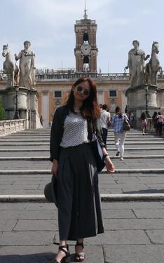 時尚穿搭:寬褲 in Italia