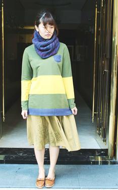 時尚穿搭:綠與樹