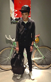 ▲ #GREEN #FIXED #GEAR #BLACK #CASUAL #MARC #BY #MARC #JACOBS #綠 。 ▲