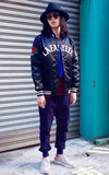 LAFAYETTE  × MAJESTIC SATIN JACKET 的時尚穿搭