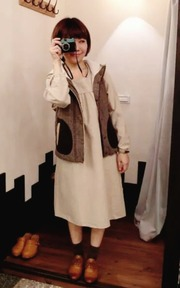 SM2 刺繡洋裝的穿搭