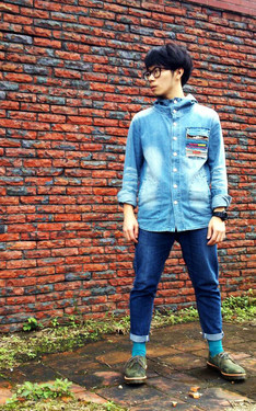 時尚穿搭:All Denim