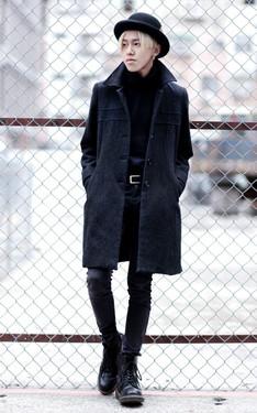 時尚穿搭:好久沒全黑