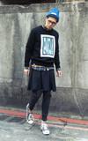 XIWI 綁帶短寬褲的時尚穿搭