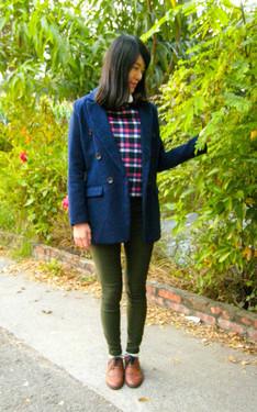 時尚穿搭:今天好冷喔~~~