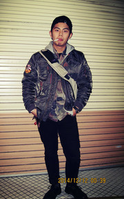 ALPHA INDUSTRIES ALPHA INDUSTRIES INJECTOR的穿搭