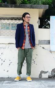 GRN+PLAIN-ME 法蘭絨格紋襯衫的時尚穿搭