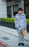 PLAIN-ME 自製商品  起毛感休閒直筒長褲的時尚穿搭