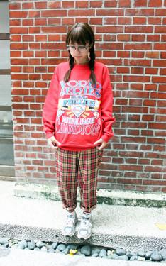 時尚穿搭:想穿紅紅的