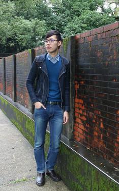 時尚穿搭:藍色