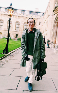 時尚穿搭:Go to Cambridge
