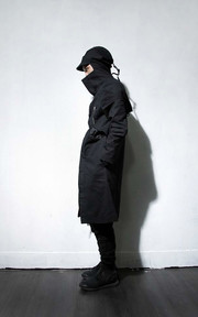 [EYES & SINS] 2014 F/W LOOKBOOK : PROTOTYPE-ZERO / 零式 黑色長大衣的穿搭