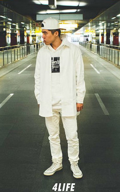 時尚穿搭:All white everything