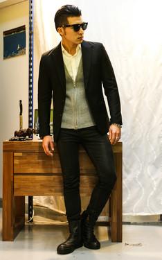 時尚穿搭:秋冬~簡約品味紳士風格