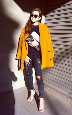 時尚穿搭:寒冬裡的暖陽