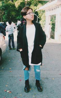 時尚穿搭:我只是去個陽明山