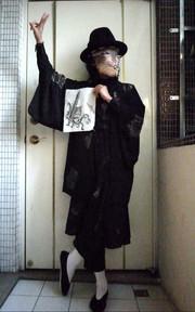 無品牌 日本和服罩衫的穿搭