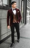 時尚穿搭:我的酒紅色風格