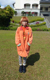 時尚穿搭:橘色暖洋洋