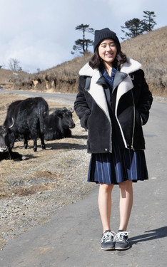 時尚穿搭:YAKS AND THE STRIPE DRESS