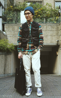 時尚穿搭:The Casual and City Outdoor Look in Sunny Day!