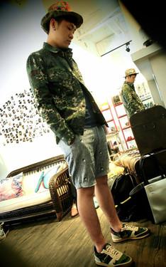 時尚穿搭:迷彩風範