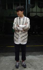PLAIN-ME 自製商品  立領襯衫的穿搭