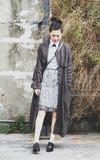 STELLA MCCARTNEY 黑色樂福鞋的時尚穿搭