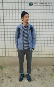 PLAIN-ME 舖棉外套的穿搭