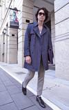 DESACCORD 單寧雙排扣大衣的時尚穿搭