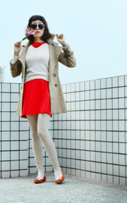 GRACE GIFT TRENCH COAT的穿搭