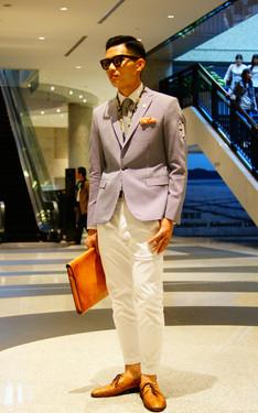 時尚穿搭:2015 Suitwalk Look