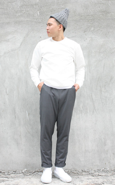 適合TOP、EASY PANTS、QSQUARE的穿搭