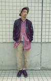 PLAIN-ME 長版格紋襯衫的時尚穿搭