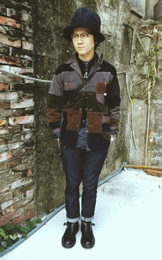 時尚穿搭:The Nice Weekend with Patchwork Jacket!