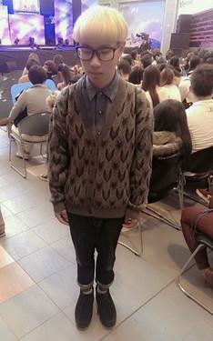 時尚穿搭:鐘 傑 2013-12-09的搭配